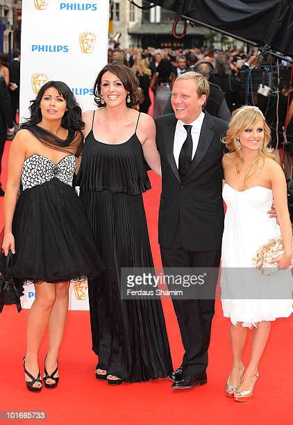 Alison King Suranne Jones Antony Cotton and Tina O'Brien attend the Philips British Academy Television awards at London Palladium on June 6 2010 in...