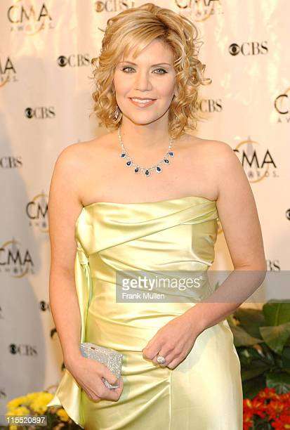 Alison Krauss during 38th Annual Country Music Awards Arrivals at Grand Ole Opry House in Nashville Tennessee United States
