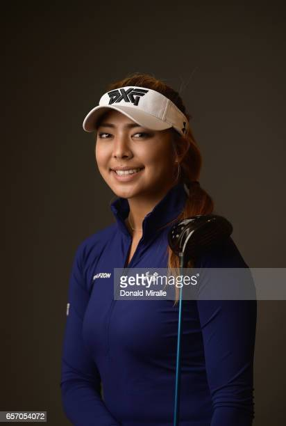 Alison Lee of the United States poses for a portrait at the Park Hyatt Aviara Resort on March 22 2017 in Carlsbad California