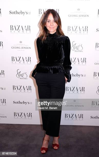 Alison Loehnis attends the Harper's Bazaar Power List of 150 visionary women sponsored by She's Mercedes at Sotheby's on November 15 2017 in London...