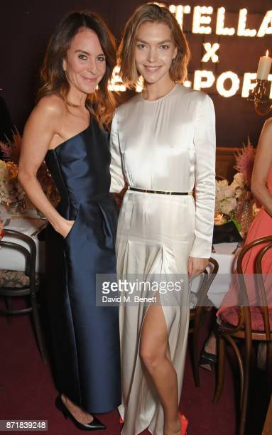 Alison Loehnis President NETAPORTER MR PORTER and Arizona Muse attend a private dinner hosted by NETAPORTER and Stella McCartney to celebrate the...