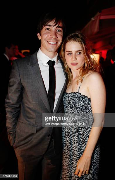 Alison Lohman and Justin Long attend the amfAR Cinema Against AIDS 2009 benefit after party at the Hotel du Cap during the 62nd Annual Cannes Film...