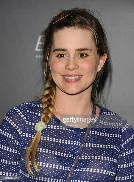 Alison Lohman arrives at 'Bernie' Premiere held at ArcLight Cinemas on April 18 2012 in Hollywood California