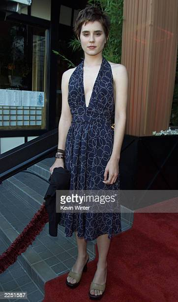 Alison Lohman at Fox TV's TCA party at Yamashiro's restaurant in Los Angeles Ca 7/18/01 Photo by Kevin Winter/Getty Images