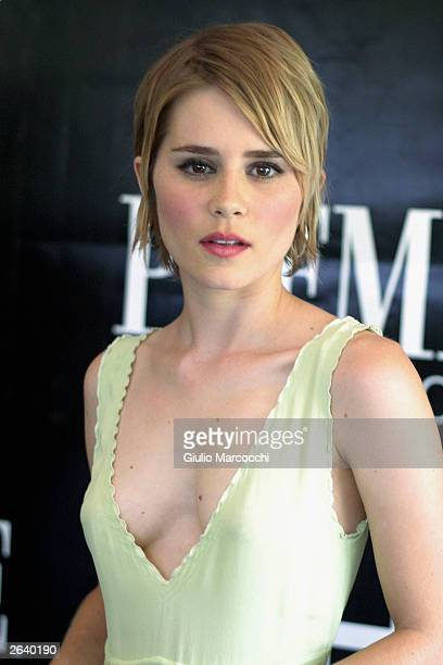 Alison Lohman attends 10th Annual Premiere Women in Hollywood Luncheon at the Four Season Hotel on October 23 2003 in Beverly Hills California