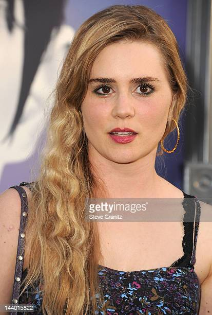 Alison Lohman attends the Los Angeles premiere of 'Dark Shadows' at Grauman's Chinese Theatre on May 7 2012 in Hollywood California