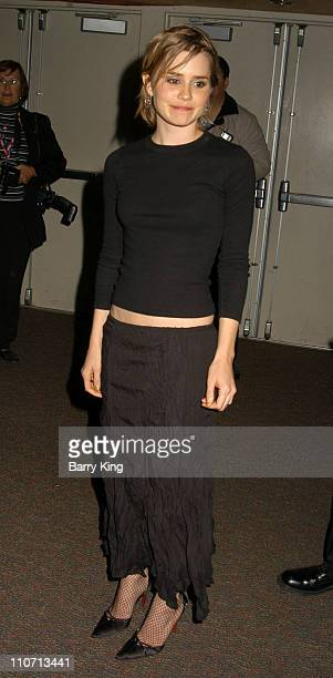 Alison Lohman during 2004 Palm Springs Film Festival Opening Night 'Big Fish' Screening at Palm Springs High School in Palm Springs California United...