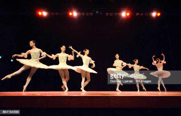 FUNCTION Alison McWhinney performs during the dress rehearsal for the English National Ballet's Emerging Dancer competition at the Queen Elizabeth...
