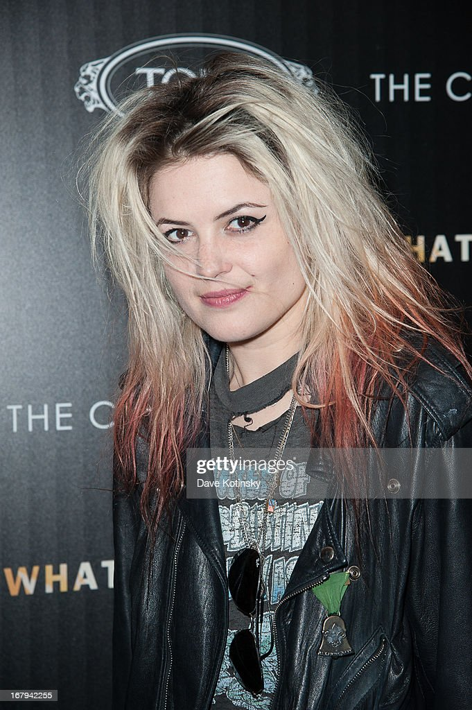Alison Mosshart attends a screening hosted by The Cinema Society With Tod's & GQ of Millennium Entertainment's 'What Maisie Knew' presented by The Cinema Society at Sunshine Landmark on May 2, 2013 in New York City.