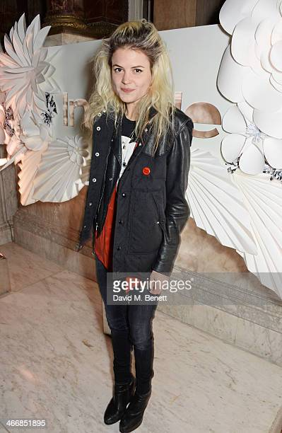 Alison Mosshart attends the InStyle Best of British Talent party in celebration of BAFTA in association with Lancome and Sky Living at Dartmouth...