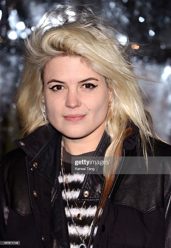 <a gi-track='captionPersonalityLinkClicked' href=/galleries/search?phrase=Alison+Mosshart&family=editorial&specificpeople=226602 ng-click='$event.stopPropagation()'>Alison Mosshart</a> attends the launch of Skate at Somerset House on November 13, 2013 in London, England.
