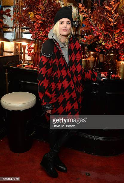 Alison Mosshart attends the Thanksgiving dinner with Coach hosted by Zoe Kravitz and Mary Charteris on November 24 2014 in London England
