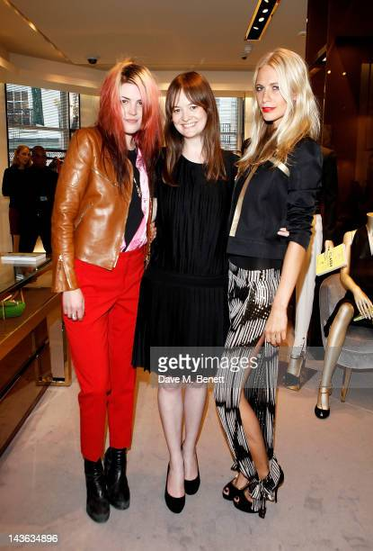 Alison Mosshart Leith Clark and Poppy Delevingne attend a cocktail party hosted by Gucci to celebrate 'Very Classy' by fashion writer Derek Blasberg...