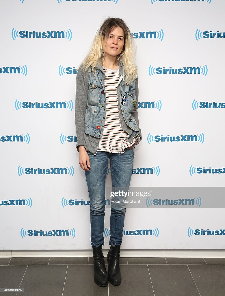 Alison Mosshart visits at SiriusXM Studios on September 22, 2015 in New York City.