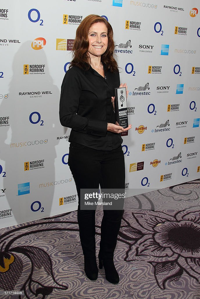 Alison Moyet attends the Nordoff Robbins Silver Clef Awards at London Hilton on June 28, 2013 in London, England.