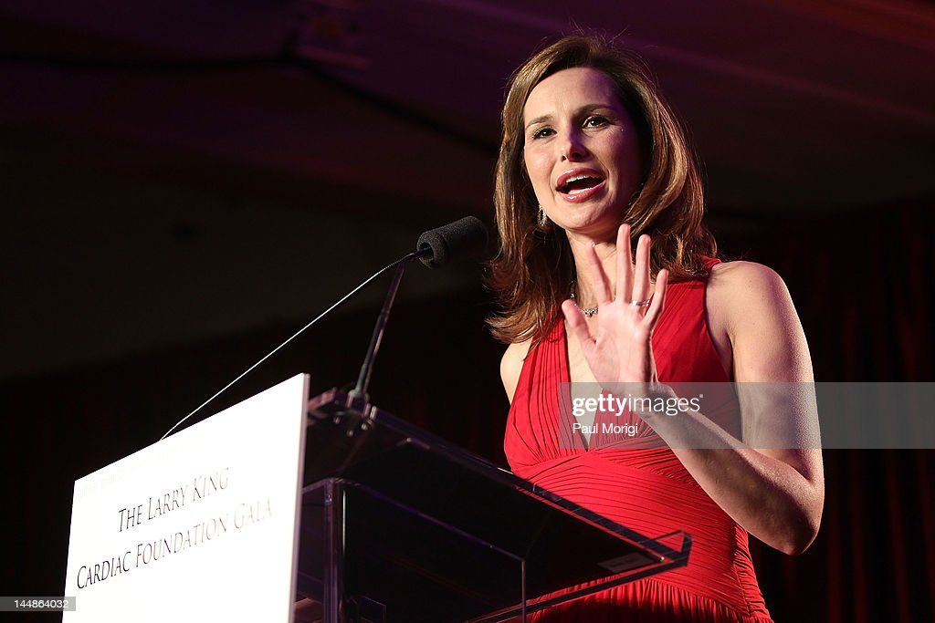 Alison Starling speaks during the 18th Annual Larry King Cardiac Foundation Gala at Ritz Carlton Hotel on May 19, 2012 in Washington, DC.