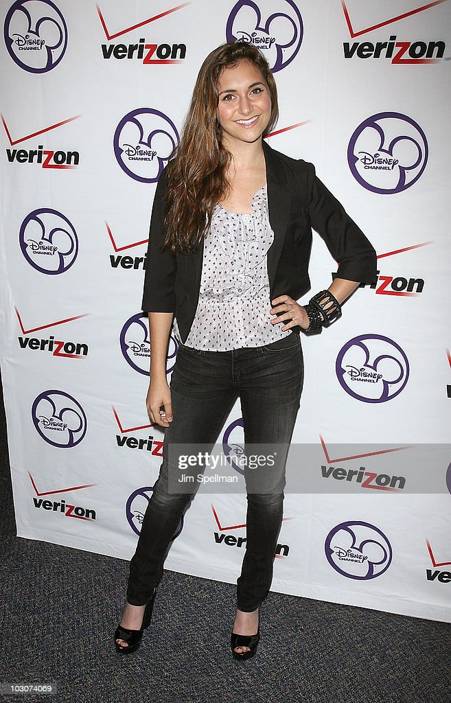 Alison Stoner promotes 'Camp Rock 2 The Final Jam' at the Paramus Park Mall on July 24 2010 in Paramus New Jersey