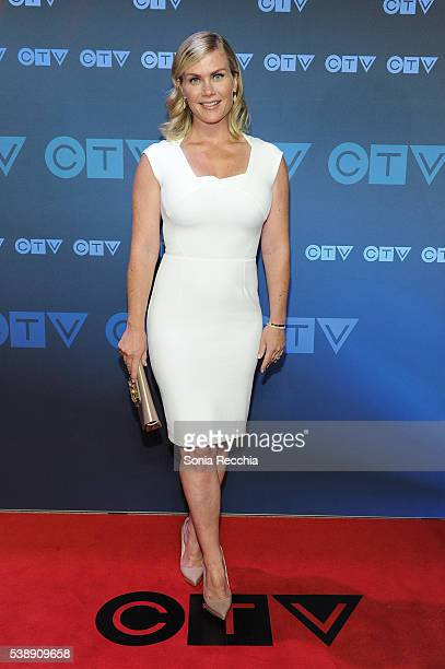 Alison Sweeney attends CTV Upfronts 2016 at Sony Centre for the Performing Arts on June 8 2016 in Toronto Canada