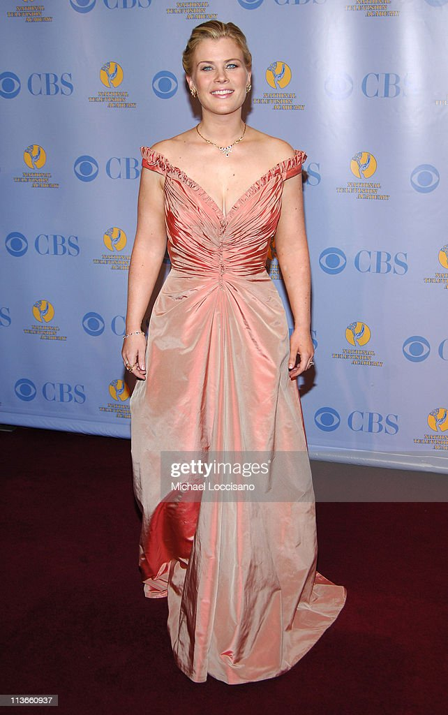 <a gi-track='captionPersonalityLinkClicked' href=/galleries/search?phrase=Alison+Sweeney&family=editorial&specificpeople=217974 ng-click='$event.stopPropagation()'>Alison Sweeney</a> during 32nd Annual Daytime Emmy Awards - Press Room at Radio City Music Hall in New York City, New York, United States.