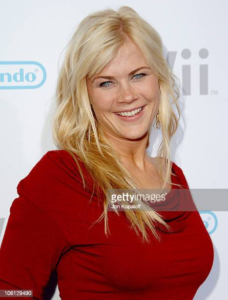Alison Sweeney during Nintendo Wii Launch Party Arrivals November 16 2006 at Kodak Theatre in Hollywood California United States