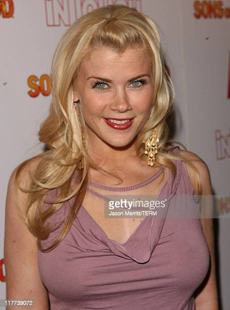 Alison Sweeney during Sons of Hollywood Premiere Party at Les Deux Hollywood in Hollywood California United States