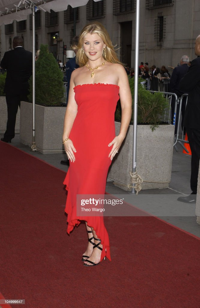 <a gi-track='captionPersonalityLinkClicked' href=/galleries/search?phrase=Alison+Sweeney&family=editorial&specificpeople=217974 ng-click='$event.stopPropagation()'>Alison Sweeney</a> during The 29th Annual Daytime Emmy Awards-Arrivals at Madison Square Garden in New York City, New York, United States.
