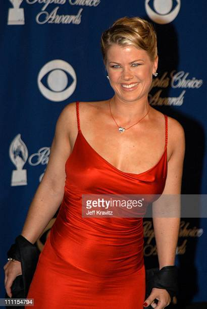 Alison Sweeney during The 29th Annual People's Choice Awards at Pasadena Civic Center in Pasadena CA United States
