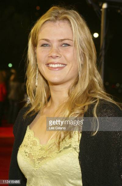 Alison Sweeney during 'The Big Bounce' Los Angeles Premiere Red Carpet at Mann Village Westwood in Westwood California United States