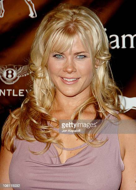 Alison Sweeney during William Rast Presents 'Street Sexy' Spring Summer 07 Arrivals at Social Hollywood in Los Angeles California United States