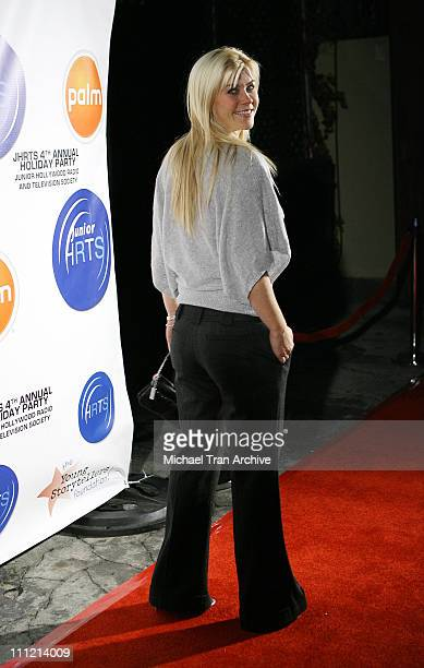 Alison Sweeney during Young Hollywood Holiday Party at Vanguard in Hollywood CA United States