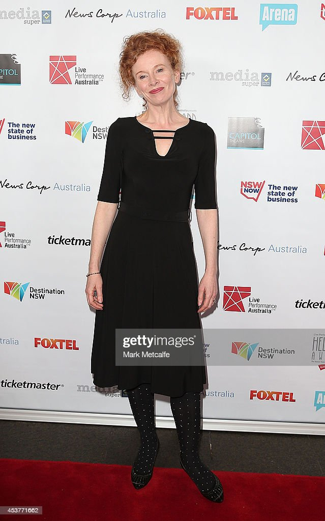 Alison Whyte arrives at the 2014 Helpmann Awards at the Capitol Theatre on August 18, 2014 in Sydney, Australia.