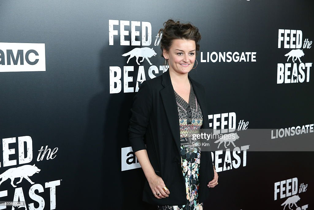 Alison Wright attends the New York Screening of 'Feed The Beast' at Angelika Film Center on May 23, 2016 in New York City.