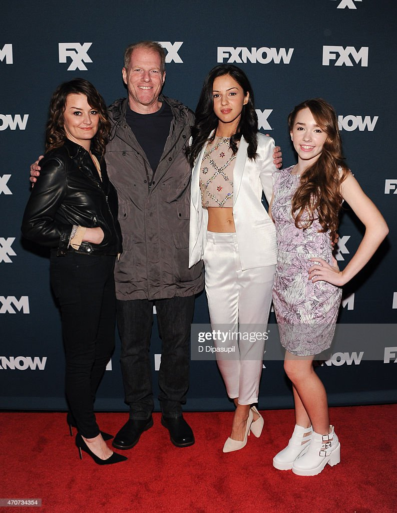 <a gi-track='captionPersonalityLinkClicked' href=/galleries/search?phrase=Alison+Wright+-+Actress&family=editorial&specificpeople=2822437 ng-click='$event.stopPropagation()'>Alison Wright</a>, <a gi-track='captionPersonalityLinkClicked' href=/galleries/search?phrase=Noah+Emmerich&family=editorial&specificpeople=2739782 ng-click='$event.stopPropagation()'>Noah Emmerich</a>, <a gi-track='captionPersonalityLinkClicked' href=/galleries/search?phrase=Annet+Mahendru&family=editorial&specificpeople=7013540 ng-click='$event.stopPropagation()'>Annet Mahendru</a>, and <a gi-track='captionPersonalityLinkClicked' href=/galleries/search?phrase=Holly+Taylor&family=editorial&specificpeople=8137665 ng-click='$event.stopPropagation()'>Holly Taylor</a> attend the 2015 FX Bowling Party at Lucky Strike on April 22, 2015 in New York City.