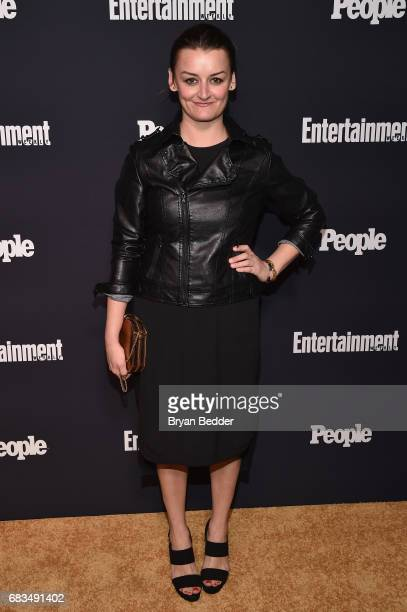 Alison Wright of The Americans attends the Entertainment Weekly and PEOPLE Upfronts party presented by Netflix and Terra Chips at Second Floor on May...