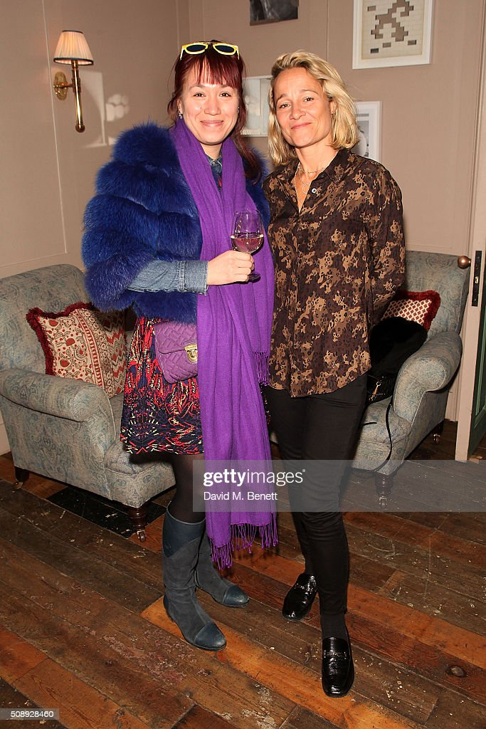 Alison Yeung and Tara Agace attend a special screening of 'The Uncountable Laughter of The Sea' at Soho House Dean Street on February 7, 2016 in London, England.