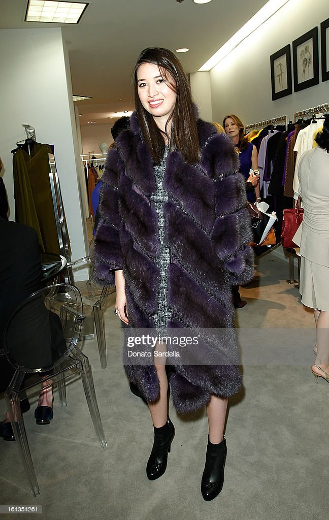 Alissa Fung and attend Saks Fifth Avenue presents designer Ralph Rucci at Saks Fifth Avenue Beverly Hills on March 22, 2013 in Beverly Hills, California.