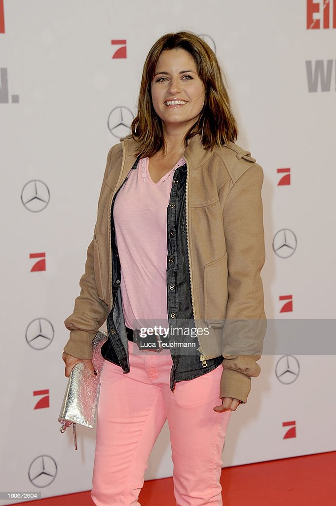 Alissa Jung attends the premiere of 'Die Hard - Ein Guter Tag Zum Sterben' at Sony Center on February 4, 2013 in Berlin, Germany.