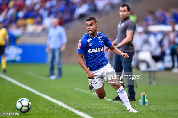 Alisson of Cruzeiro a match between Cruzeiro and Botafogo as part of Brasileirao Series A 2017 at Mineirao stadium on August 6 2017 in Belo Horizonte...