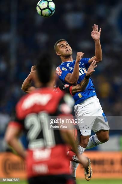 Alisson of Cruzeiro a match between Cruzeiro and Flamengo as part of Copa do Brasil Final 2017 at Mineirao stadium on September 27 2017 in Belo...