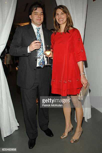 Alistair Clarke and Blair Clarke attend LA MER and OCEANA Party for WORLD OCEAN DAY 2008 at 620 Loft Garden on June 4 2008 in New York City