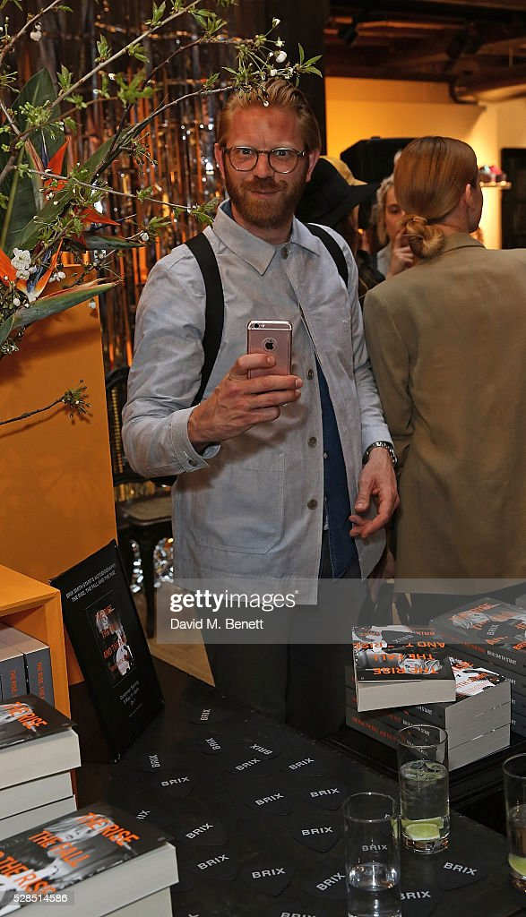 Alistar Guy attends the Brix Smith Start Autobiography Launch at Liberty London on May 5, 2016 in London, England.