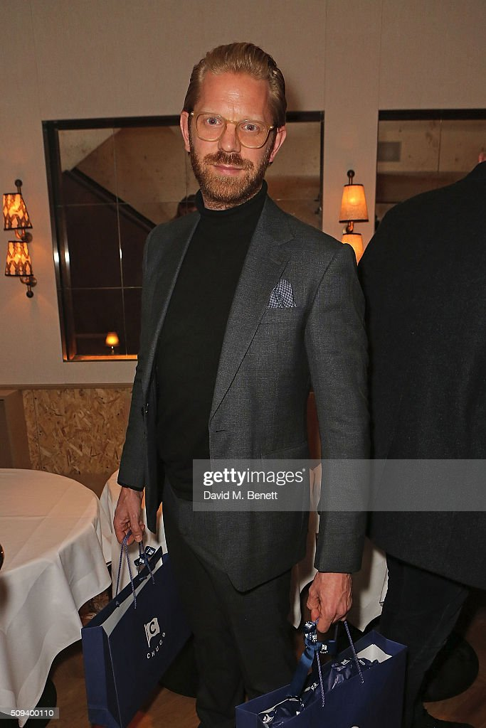 <a gi-track='captionPersonalityLinkClicked' href=/galleries/search?phrase=Alistair+Guy&family=editorial&specificpeople=5843933 ng-click='$event.stopPropagation()'>Alistair Guy</a> attends the launch of Italian restaurant and menswear boutique Chucs on Westbourne Grove on February 10, 2016 in London, England.