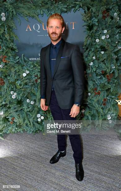 Alistair Guy attends the launch of The Nordic Winter Garden at Aquavit by McQueens on November 13 2017 in London England