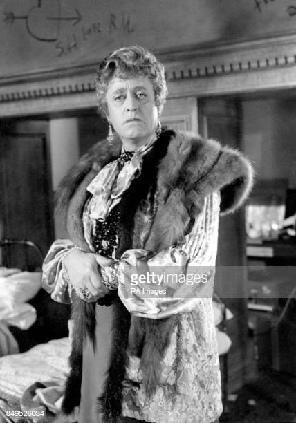 Alistair Sim as headmistress Fritton in the production of the new LaunderGilliat production for London Films 'The Belles of St Trinian's' now being...