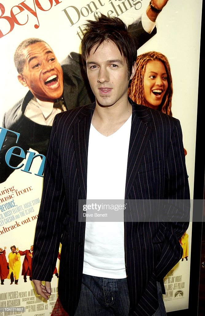 Alistair (fame Academy), 'The Fighting Temptations' Premiere, Empire Leicester Square, London