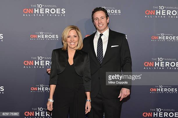 Alisyn Camerota and Chris Cuomo attend CNN Heroes 2016 at the American Museum of Natural History on December 11 2016 in New York City 26362_011