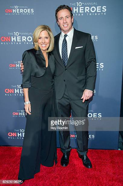 Alisyn Camerota and Chris Cuomo attend the 10th Anniversary CNN Heroes at American Museum of Natural History on December 11 2016 in New York City