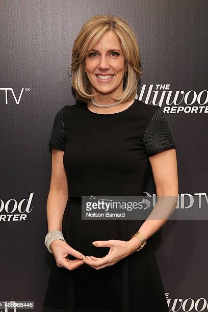 Alisyn Camerota attends 'The 35 Most Powerful People In Media' celebrated by The Hollywoood Reporter at Four Seasons Restaurant on April 8 2015 in...