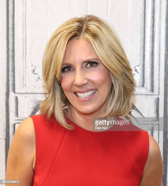 Alisyn Camerota discusses her new book 'Amanda Wakes Up' at Build Studio on July 25 2017 in New York City