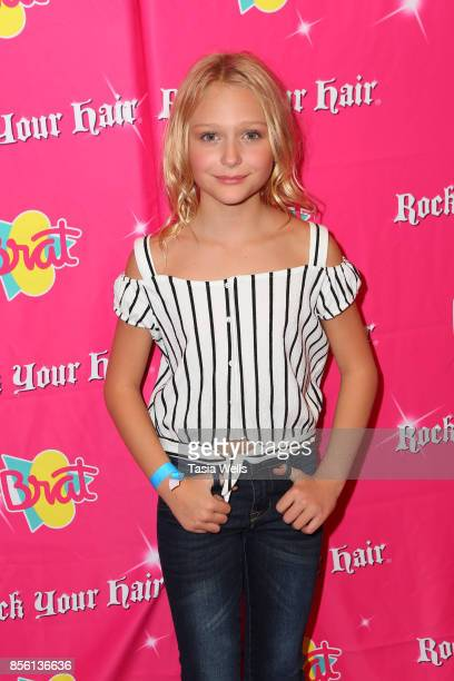 Alivia Alyn Lind at Rock Your Hair Presents Rock Back to School Concert Party on September 30 2017 in Los Angeles California
